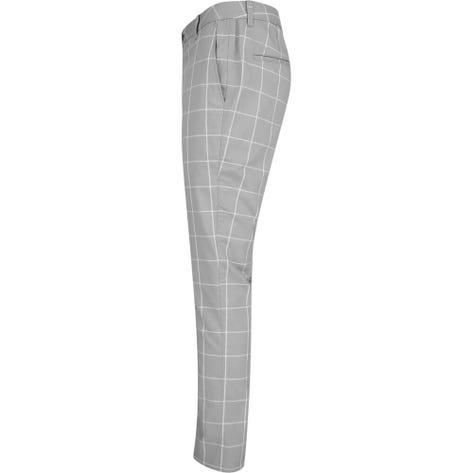 PUMA Golf Trousers - Plaid Pant - Quarry AW19