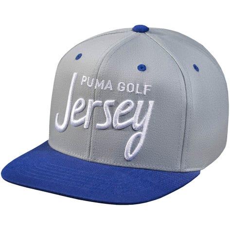 PUMA Golf Cap - Jersey City Snapback - Grey 2019