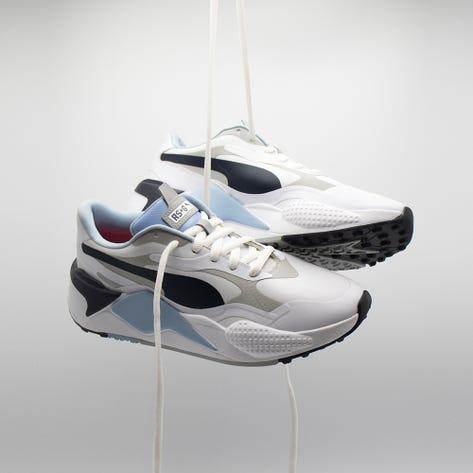 PUMA Golf Shoes - RS-G - White - Navy 2021