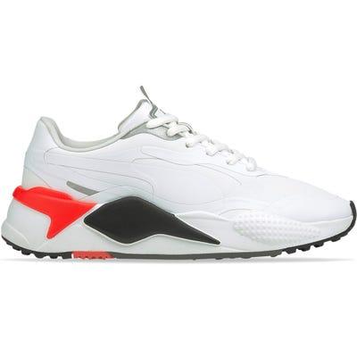 PUMA Golf Shoes - RS-G - White - Red Blast 2021