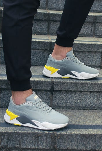PUMA Golf - Grey Yellow RS-G Golf Shoes - Limited Edition 2021