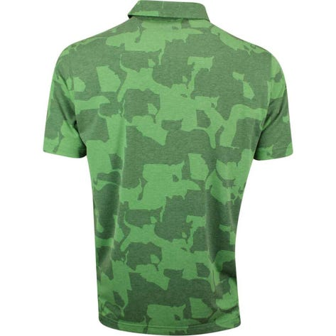 PUMA Golf Shirt - Union Camo - Juniper Green SS19