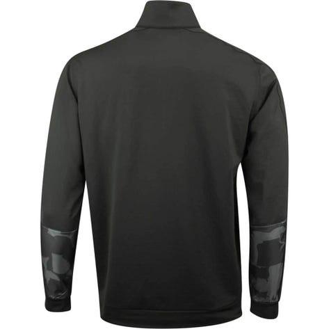 PUMA Golf Pullover - Union Camo QZ - Black SS19