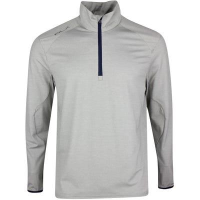 RLX Golf Pullover - Athleisure Stretch QZ - Sport Htr Grey SS21