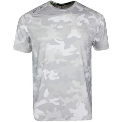 RLX Golf T-Shirt - Athleisure Performance Tee - White Camo SS21
