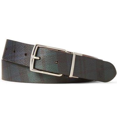 Ralph Lauren POLO Golf Belt - Reversible Tartan - Blackwatch SS21