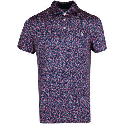 Ralph Lauren POLO Golf Shirt - Printed Pima Jersey - Navy Floral PS22