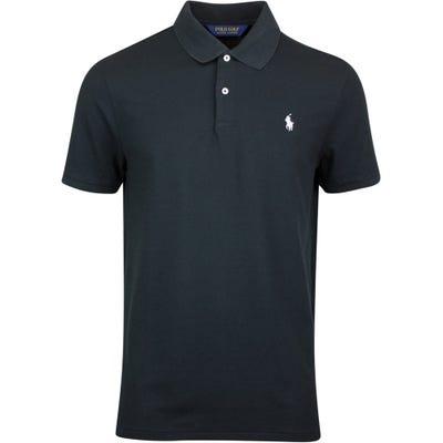 Ralph Lauren POLO Golf Shirt - Stretch Pique - Black PS22