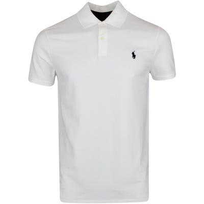 Ralph Lauren POLO Golf Shirt - Stretch Pique - White PS22