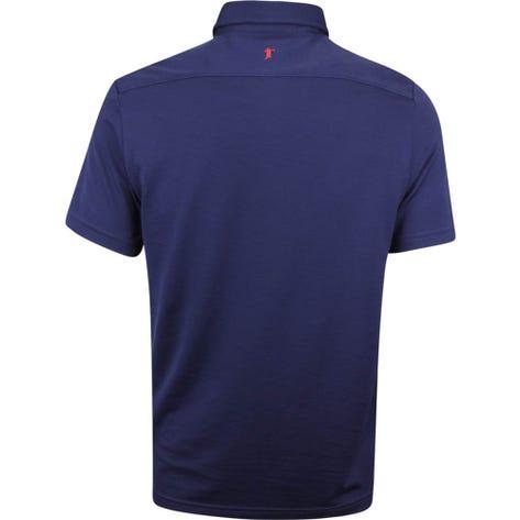 Justin Thomas POLO Golf Shirt - Tour Pique - French Navy SS19