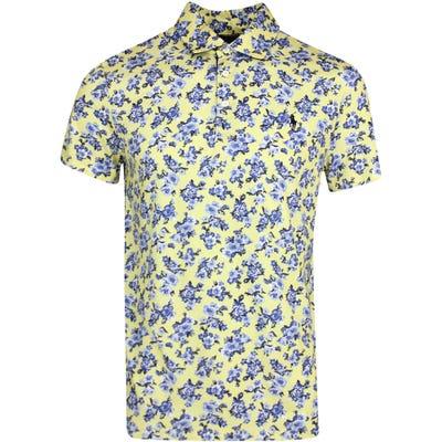 Ralph Lauren POLO Golf Shirt - Printed Pima Jersey - Yellow FA21