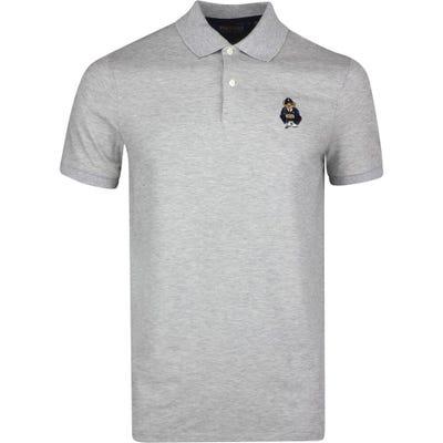 Ralph Lauren POLO Golf Shirt - Bear Logo - Grey Htr SS21