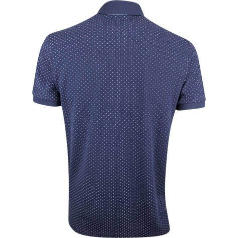 Ralph Lauren POLO Golf Shirt - Printed Pique - Polka Dot Navy SS19