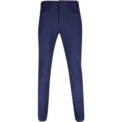 Ralph Lauren POLO Golf Trousers - Pinstripe Pant - French Navy SS21