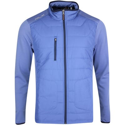 RLX Golf Jacket - Quilted Coolwool - Bastille Blue PS22