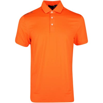 RLX Golf Shirt - Solid Airflow - Exotic Orange SS21