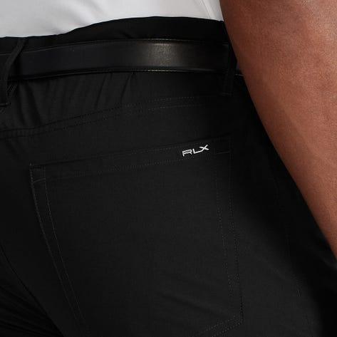 RLX Golf Trousers - Athletic 5 Pocket Tech Pant - Black FA21
