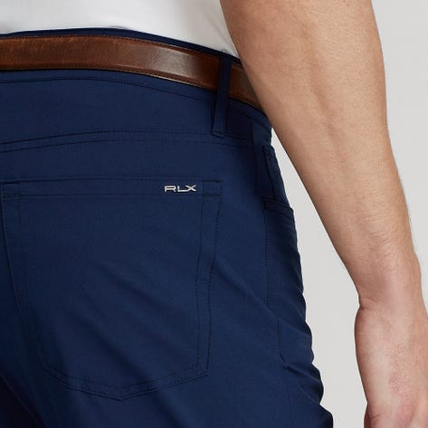 RLX Golf Trousers - Athletic 5 Pocket Tech Pant - French Navy FA21