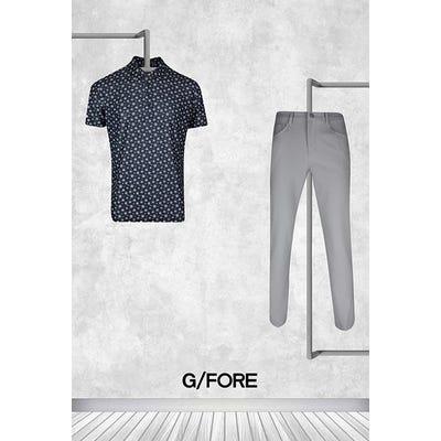 Rich Beem - US PGA Thursday - G/FORE Logo Golf Shirt 2021