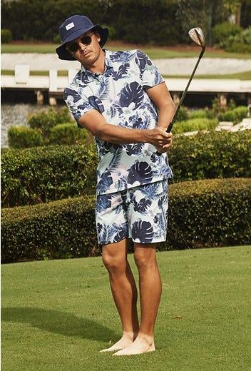 PUMA Golf - Rickie Fowler Botanical Shirt & Shorts Set - SB2K21