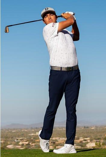 PUMA Golf - Rickie Fowler Mid Top Golf Shoes - Repeating Logo