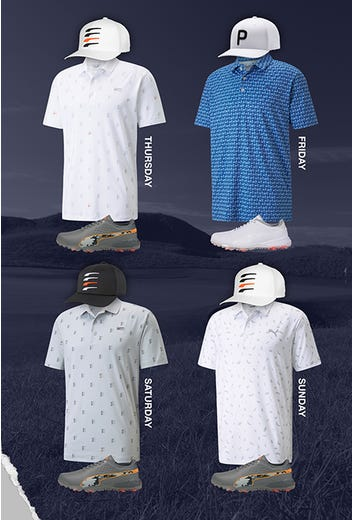 Rickie Fowler - Open Championship Outfits - Puma Golf 2021