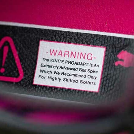 PUMA Golf Shoes - Ignite PRO ADAPT - Black Warning LE 2019