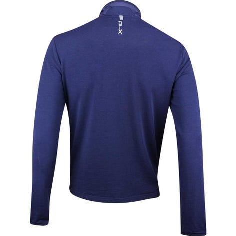 RLX Golf Jacket - Quilted Coolwool - French Navy SS19