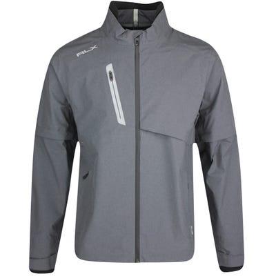 RLX Golf Jacket - Iron Unlined Waterproof - Grey Heather FA21