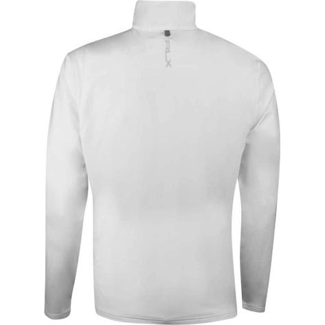 RLX Golf Pullover - Brushback Tech Jersey - Pure White SS19