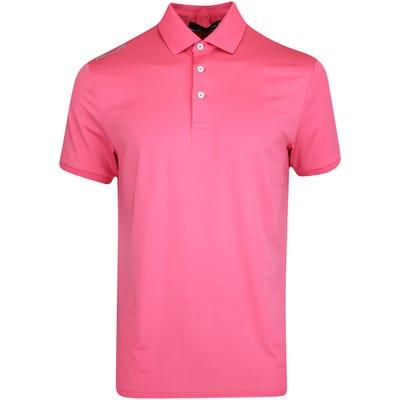 RLX Golf Shirt - Solid Airflow - Sunset Rose FA21