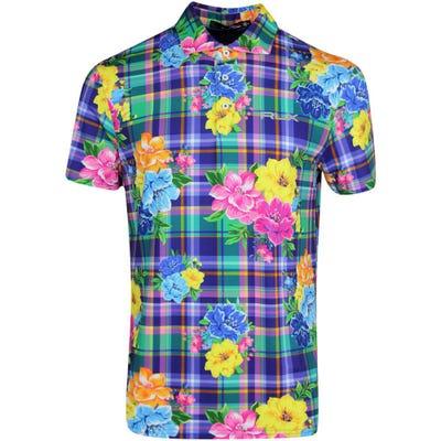 RLX Golf Shirt - Printed Airflow - Madras Floral SS21