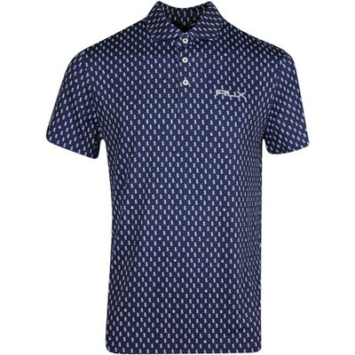 RLX Golf Shirt - Printed Airflow - Pineapple Print SS21