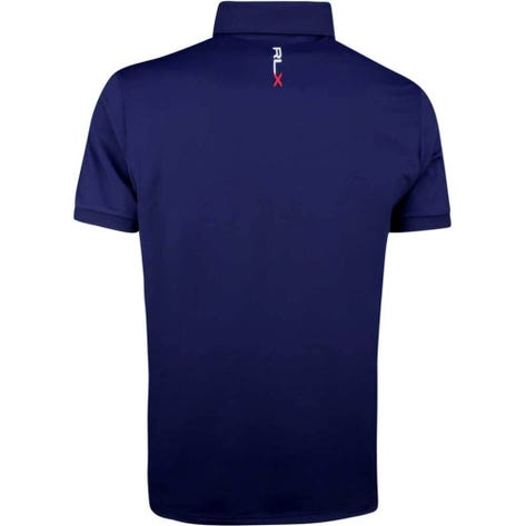 RLX Golf Shirt - Solid Airflow - French Navy SS19