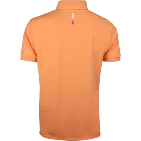 RLX Golf Shirt - Solid Airflow - Poppy Orange SS19