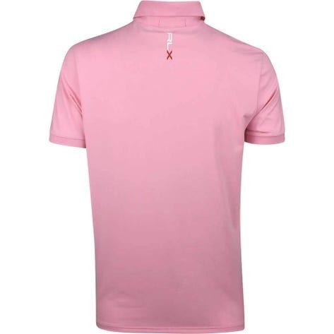 RLX Golf Shirt - Solid Airflow - Pink Flamingo SS19