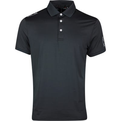 RLX Golf Shirt - Solid Airflow - Polo Black SS21