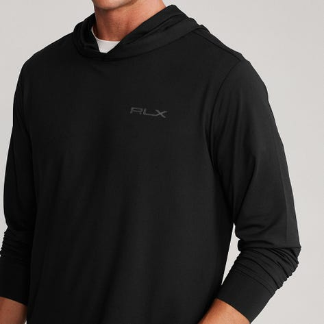 RLX Golf Pullover - Performance Hoodie - Black FA21