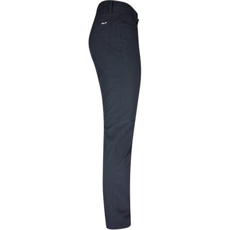 RLX Golf Trousers - Athletic 5 Pocket Tech Pant - Black SS21