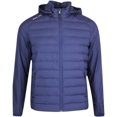 RLX Golf Jacket - Packable Hooded FZ - French Navy FA21