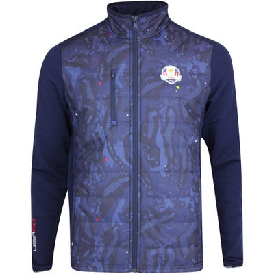 RLX Ryder Cup Golf Jacket - Quilted Coolwool - Team USA 2021