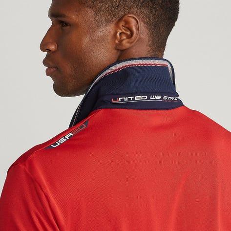 RLX Ryder Cup Golf Shirt - Stripe Pique - Team USA 2021
