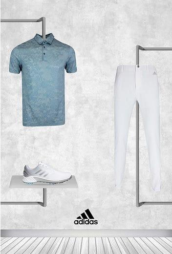 Sergio Garcia - US PGA Friday - adidas Camo Golf Shirt 2021