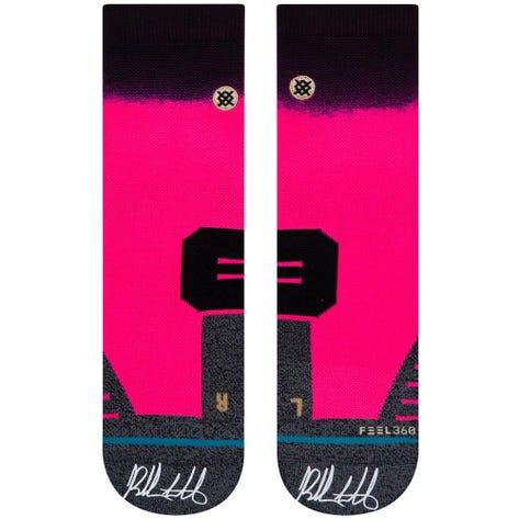Stance Golf Socks - Bubba Long QTR - Pink 2020