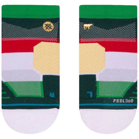Stance Golf Socks - Jack Nicklaus Low - Green 2019