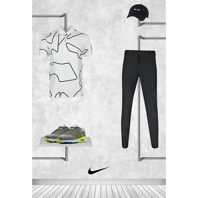 Tommy Fleetwood - Masters Saturday - Air Max 90 Golf Shoes 2021