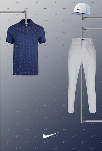 Tony Finau - US Open Thursday - Space Dot Golf Shirt 2021
