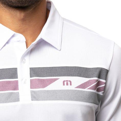 TravisMathew Golf Shirt - Top Sail Polo - White SU21