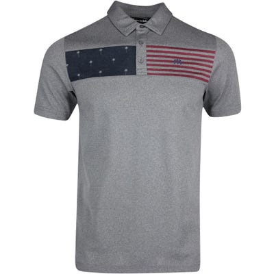 TravisMathew Golf Shirt - Out for the Night Polo - Quiet Shade SS21