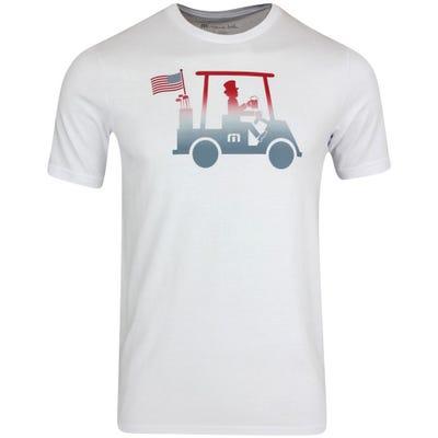 TravisMathew T-Shirt - Pledge to Beer Tee - White SS21